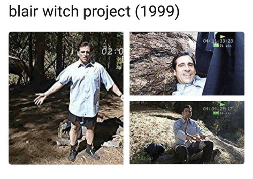 Project 1999, Witch, and Blair Witch Project: blair witch project (1999)  4:11:33:23  04:04:2917