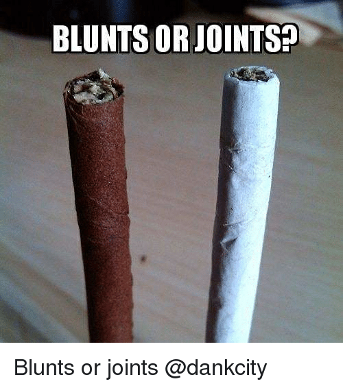 joints: BLUNTS OR JOINTS? Blunts or joints @dankcity