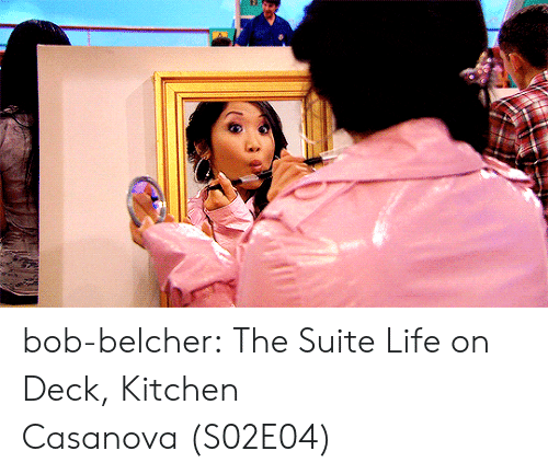 suite: bob-belcher:  The Suite Life on Deck, Kitchen Casanova (S02E04)
