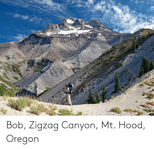 Hood: Bob, Zigzag Canyon, Mt. Hood, Oregon