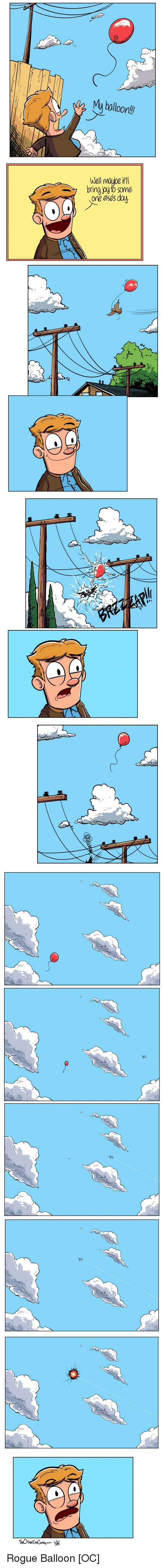 Rogue, Comics, and Day: bolloor  Well maube it  ve eses day Rogue Balloon [OC]