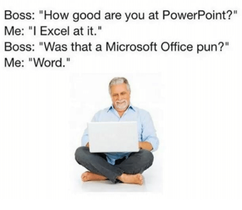 25  best memes about microsoft office