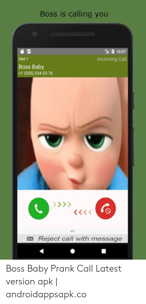 25 Best Memes About Call Boss Baby Number Call Boss