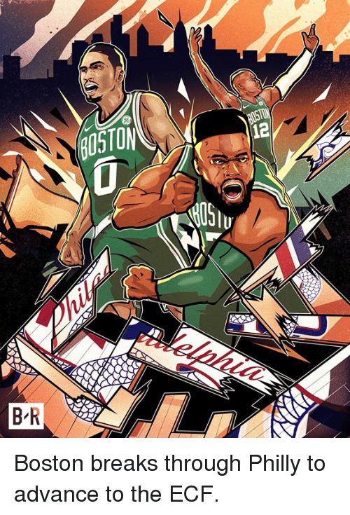 Boston, Philly, and Through: Boston breaks through Philly to advance to the ECF.
