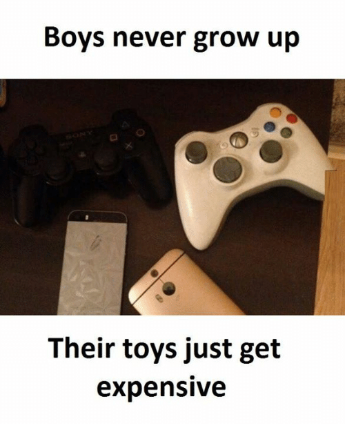 Grown Up Toys For Boys : Funny grow up memes of on sizzle deleters