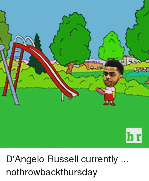 Sports, d'Angelo Russell, and  Dangelo: br D'Angelo Russell currently ... nothrowbackthursday