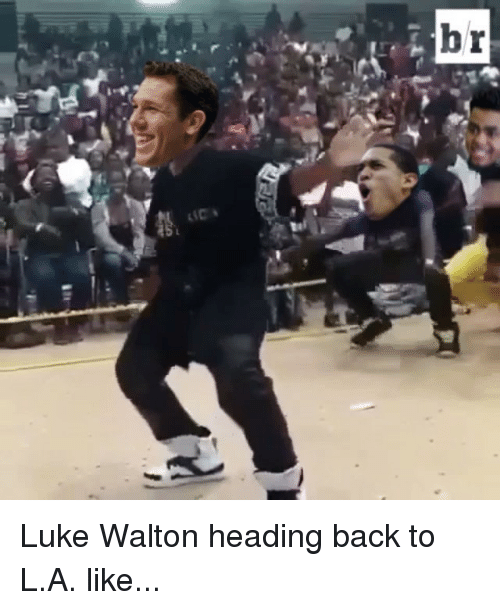Head, Luke Walton, and Sports: br Luke Walton heading back to L.A. like...