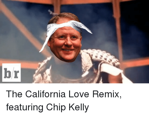 Chip Kelly: br The California Love Remix, featuring Chip Kelly