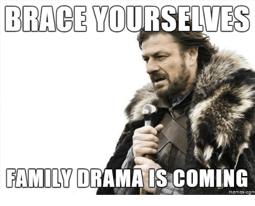 brace yourselves family orama is coming memes com 17728642 search family drama memes on me me