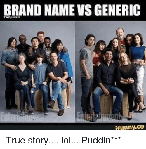 decision on brand or generic name