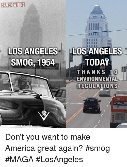 brave new films los angeles los angeles smog 1954 today thanks to environmental regulations 6263. Black Bedroom Furniture Sets. Home Design Ideas