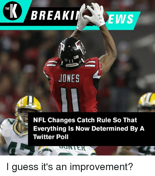 nfl rule changes After years of confusion, debate and yelling in disbelief at the tv, nfl fans might finally find out the answer to what feels like an age-old question: what is a catchthe nfl revamped its catch rule.