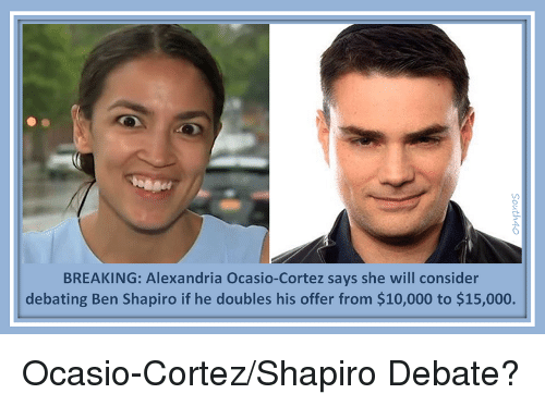 BREAKING Alexandria Ocasio-Cortez Says She Will Consider ...