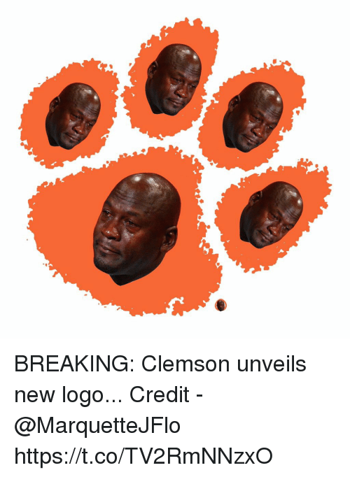 clemson: BREAKING: Clemson unveils new logo...  Credit - @MarquetteJFlo https://t.co/TV2RmNNzxO