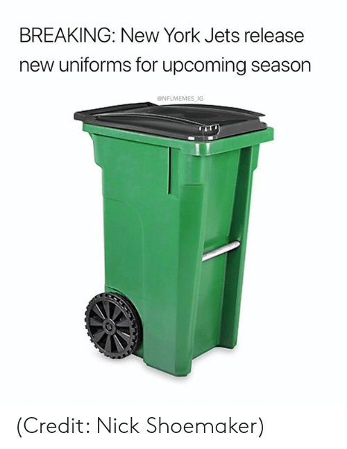 New York Jets: BREAKING: New York Jets release  new uniforms for upcoming season  ONFLMEMES IG (Credit: Nick Shoemaker)
