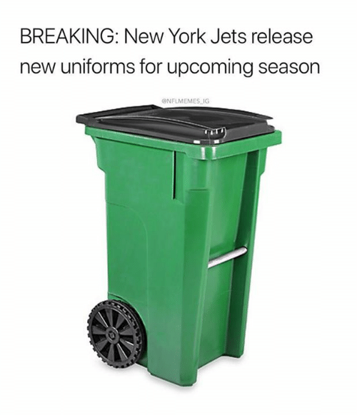 Nflmemes: BREAKING: New York Jets release  new uniforms for upcoming season  @NFLMEMES IG