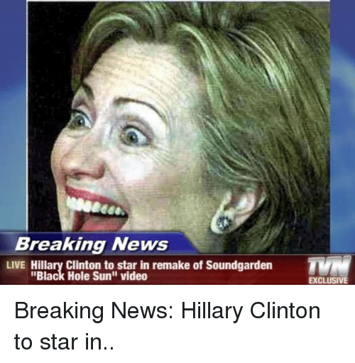 Hillary Clinton Latest News: Breaking News LIVE Hillary Clinton To Star In Remake Of