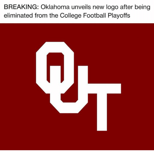College, College Football, and Football: BREAKING: Oklahoma unveils new logo after being  eliminated from the College Football Playoffs