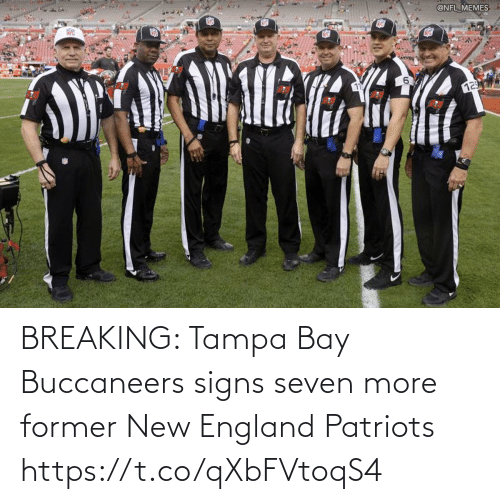 buccaneers: BREAKING: Tampa Bay Buccaneers signs seven more former New England Patriots https://t.co/qXbFVtoqS4