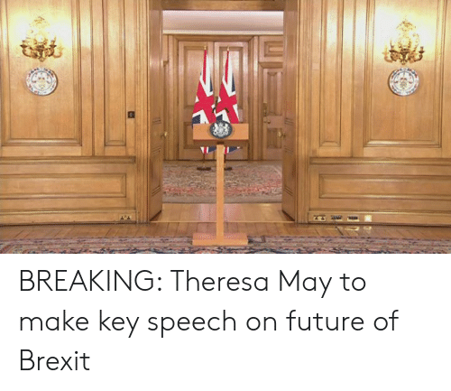 Theresa: BREAKING: Theresa May to make key speech on future of Brexit