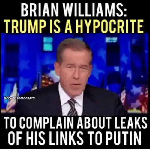 brian williams trump is a hypocrite to complain about leaks 15080683 this justin brian williams dodging missiles in syria