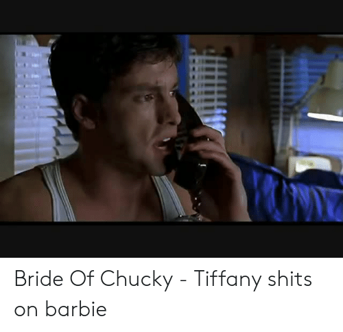 Chucky: Bride Of Chucky - Tiffany shits on barbie
