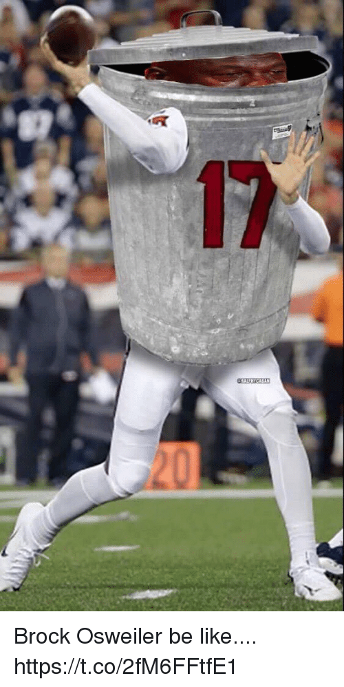 Osweiler: Brock Osweiler be like.... https://t.co/2fM6FFtfE1