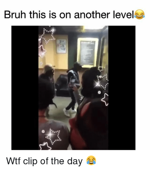 Bruh, Funny, and Wtf: Bruh this is on another level Wtf clip of the day 😂