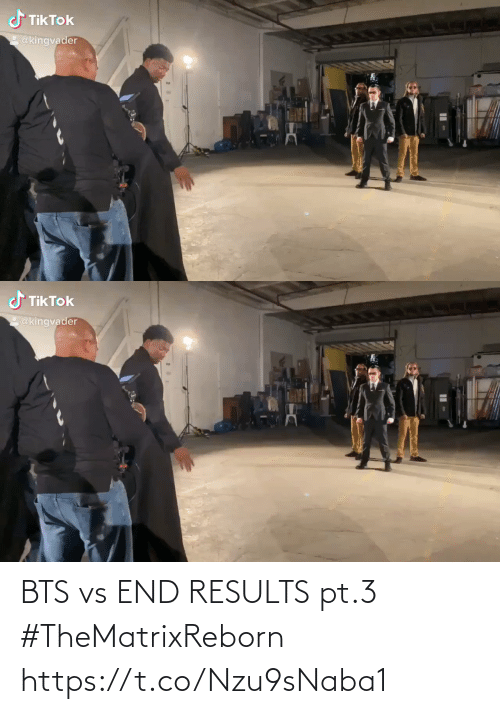 BTS: BTS vs END RESULTS pt.3 #TheMatrixReborn https://t.co/Nzu9sNaba1