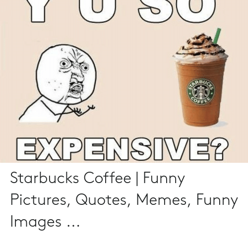 BU EXPENSIVE? Starbucks Coffee | Funny Pictures Quotes Memes ...