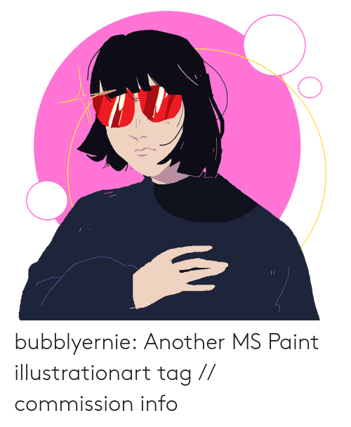 ms paint: bubblyernie:  Another MS Paint illustrationart tag // commission info