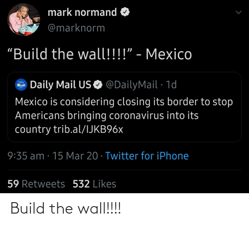 build-the-wall: Build the wall!!!!