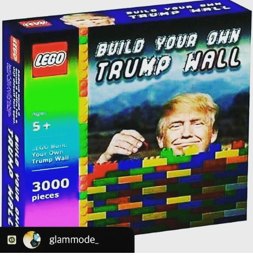 Sometimes We Build Walls Not To Keep Trump