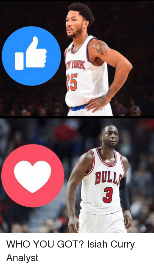 Memes, 🤖, and Curry: BULL WHO YOU GOT?   Isiah Curry Analyst