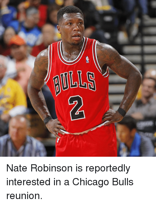 Chicago, Chicago Bulls, and Sports: BULLS  UL 2 Nate Robinson is reportedly interested in a Chicago Bulls reunion.