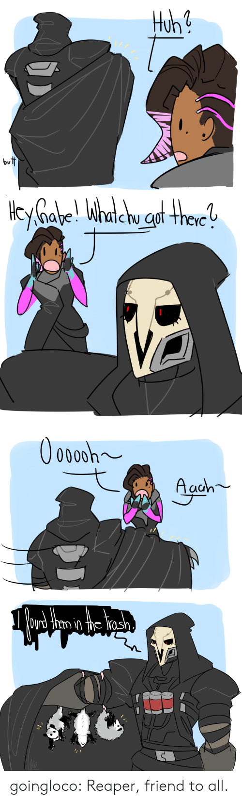 ras: but   0000h  Aaah   Oyrd then in the ras goingloco:  Reaper, friend to all.