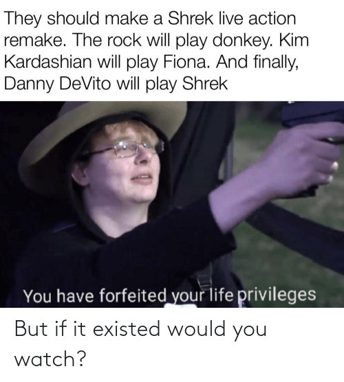 Would You: But if it existed would you watch?