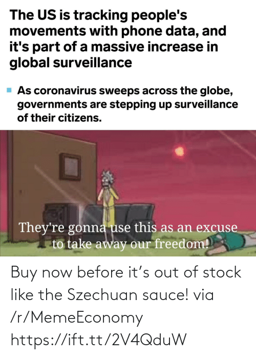 Out Of Stock: Buy now before it's out of stock like the Szechuan sauce! via /r/MemeEconomy https://ift.tt/2V4QduW