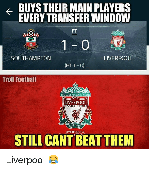 Best 25 Liverpool Memes Ideas On Pinterest: 25+ Best Memes About Liverpool F.C., Troll, And Trolling