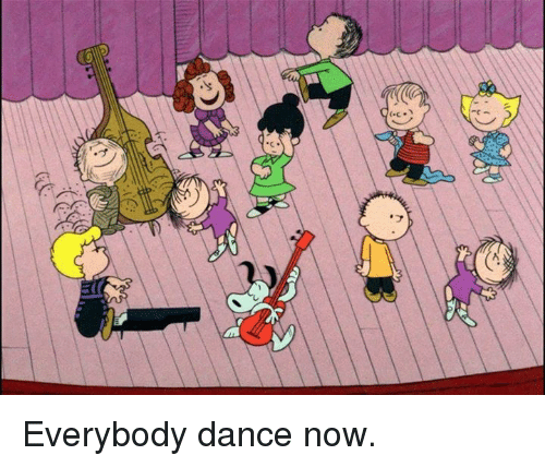 Memes, Dance, and 🤖: (-cン Everybody dance now.