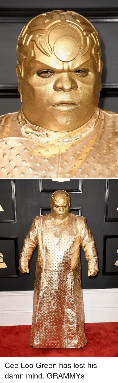 Blackpeopletwitter and Looed: C Cee Loo Green has lost his damn mind. GRAMMYs
