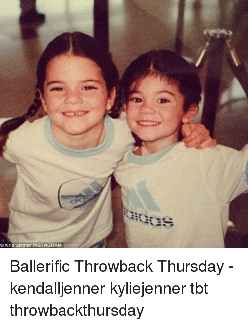 C Kris Jenner INSTAGRAM Ballerific Throwback Thursday ...