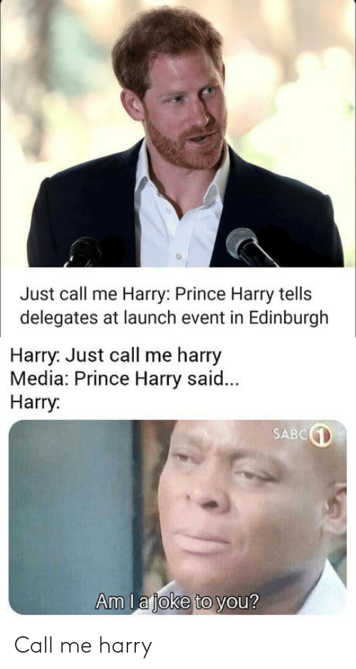harry: Call me harry