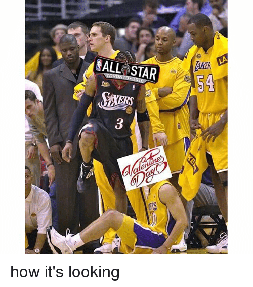 NBA: CALL STAR  54 how it's looking