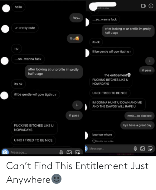 entitlement: Can't Find This Entitlement Just Anywhere🌚