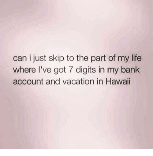 a personal account of a trip to hawaii How to travel search  we send you a receipt by email with your trip's details,  or cancel your reservation from the my trips section on your personal account page.