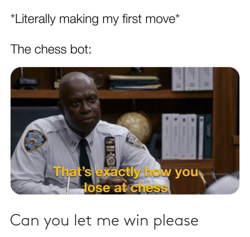 Can You: Can you let me win please
