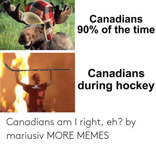 am i: Canadians am I right, eh? by mariusiv MORE MEMES