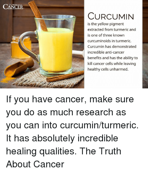 Curcumin eats Cancer for breakfast - CANCER