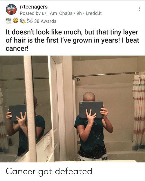 Cancer: Cancer got defeated